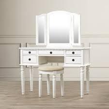 vanity make up table makeup tables and vanities you ll love wayfair
