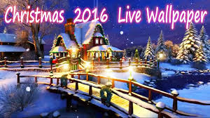 christmas 2016 live wallpaper free 3d youtube
