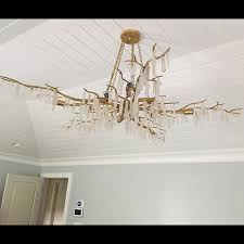 forest light chandelier currey u0026 company providence house