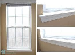 window white framing a molding framing window trim ideas inside