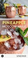 fun thanksgiving cocktails pineapple moscow mule recipe ginger beer beer and beverage