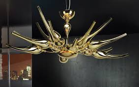 Murano Glass Lighting Pendants by Gold Plated Contemporary Murano Glass Pendant Bal1805k20 Murano