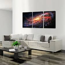 amazon com creative art space and universe stretched canvas
