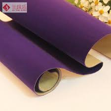 self adhesive velvet china in stock flocking material fabric with self adhesive backing