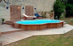 Backyard Above Ground Pool Ideas 40 Uniquely Awesome Above Ground Pools With Decks Above Ground