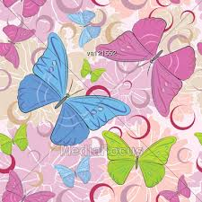 abstract pattern butterfly abstract colored butterfly flowers seamless pattern background