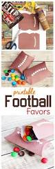 free printable football party favor boxes sweet t makes three