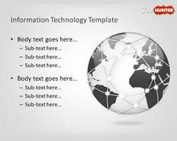 free information technology powerpoint template