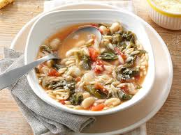 pastina soup recipe white bean soup with escarole recipe taste of home