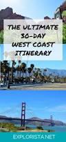 West Coast Map Usa by Best 25 West Coast Ideas Only On Pinterest West Coast Road Trip