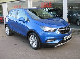 vauxhall mokka used boracay blue metallic vauxhall mokka for sale lincolnshire