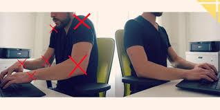 posture au bureau eviter les douleurs du cou au bureau une astuce simple le coin