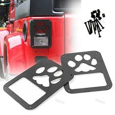 jeep accessories lights tail lamp tail light cover trim guards protector for rear