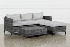 egan sofa w reversible chaise outdoor domingo ii sofa w reversible chaise cocktail table