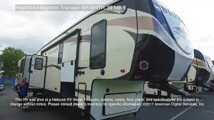 bighorn fifth wheel floor plans heartland bighorn traveler 5th bhtr 39 mb youtube