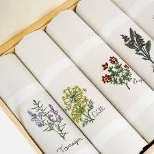 spices leiho dish towel box set jan de luz linens