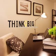 aliexpress com buy vinyl wall stickers quotes think big aliexpress com buy vinyl wall stickers quotes think big removable decorative decals for home decor from reliable sticker decal suppliers on myhome decor