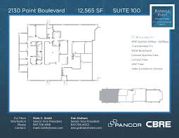 at t center floor plan randall point executive center office space for lease pancor