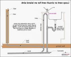 kitchen island vents 79 most elaborate island venting kitchen sink fresh the plumbing