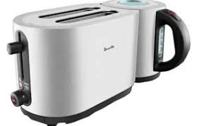 Brevelle Toaster Breville Ikon Toaster And Kettle Combo A One Stop Shop For Snacks