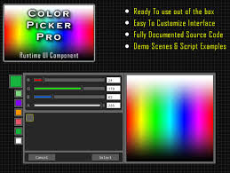 color selection released color picker pro a runtime color selection ui unity forum