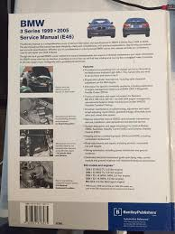 1999 2005 bmw 3 series bentley repair shop manual bmw