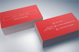Graphic Designers Business Card Minimalist Business Card 9 Free Psd Vector Ai Eps Format