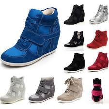 s boots wedge s suede ankle boots wedge heel hook loop fashion sneakers