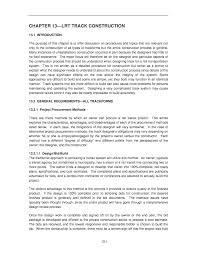 chapter 13 lrt track construction track design handbook for