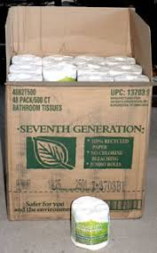 wrapped toilet paper seventh generation solving my toilet paper problem