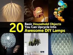 20 basic household objects you can upcycle into awesome diy lamps
