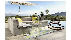 Ebb Small Outdoor Sectional CB - Outdoor furniture sectional