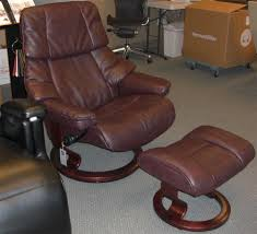 stressless tampa small recliner chair ergonomic lounger and