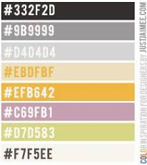 love fall color inspiration palette justjaimee love