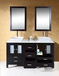 Taps Bathroom Vanities by Virtu Usa Md 4305 S Es Bradford 60 Inch Bathroom Vanity With
