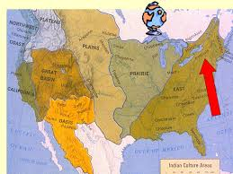 4 american cultures map american tribes by region why did different