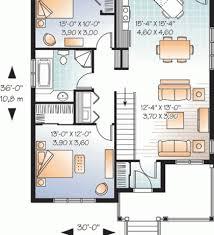 Open Floor Plan Home Plans 2 Bedroom Home Plans