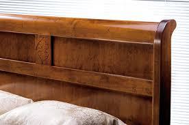 letto a legno massello elisa camere da letto classiche mobili sparaco