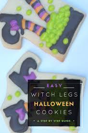 witch halloween cookies tutorial