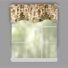 waverly tennyson scalloped window valances set of 2 christmas