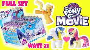 The Movie Blind My Little Pony Movie 2017 Blind Bags Opening Mlp Toys Wave 21 Full