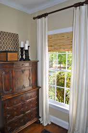 How High To Hang Curtains 23 Best Curtains And Blinds Images On Pinterest Bamboo Blinds