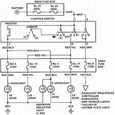 1994 honda civic parking light wiring diagram 1992 honda civic
