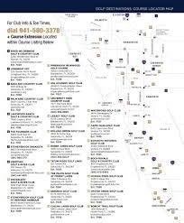 Scf Campus Map Play Golf Sarasota Sarasota Local Interest