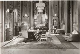 films without people art deco set design and deco interiors