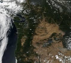 map of oregon smoke oregon satellite images of the wildfire smoke covering oregon