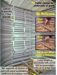 optional security kits for window well cover