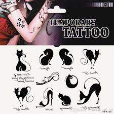 body painting tattoos waterproof female male tattoo stickers