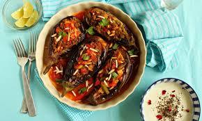 turmeric u0026 saffron bademjan shekam por persian stuffed eggplant