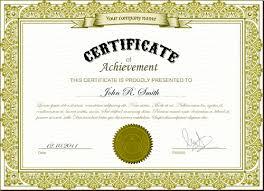 2blank certificate template sample